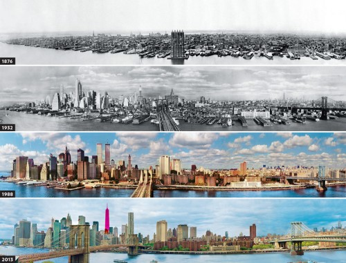 NYC Skyline Timeline